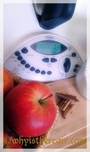 Apples and cinnamon make for a tasty Thermomix breakfast
