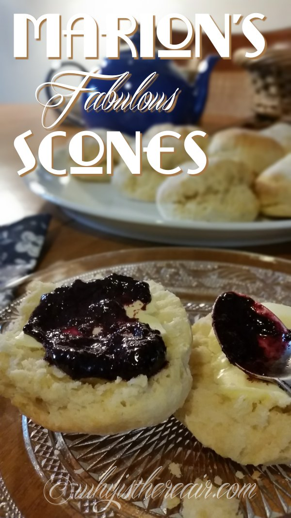 Marion's Fabulous Scones are fabulously fast and easy to make in your Thermomix. Al;ways a big hit!