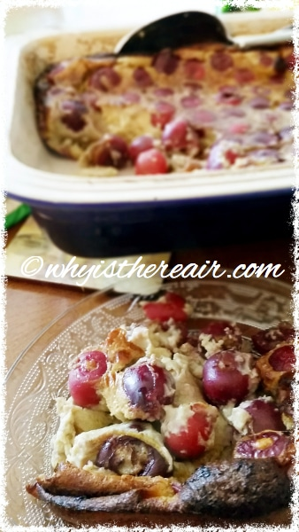 Traditional French Cherry Clafoutis is a delicious springtime dessert to make in your Thermomix