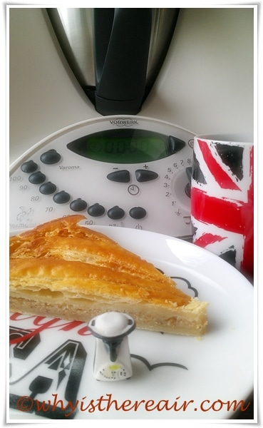 My Thermomix Puff Pastry Galette is fast and easy to make and oh so delicious!