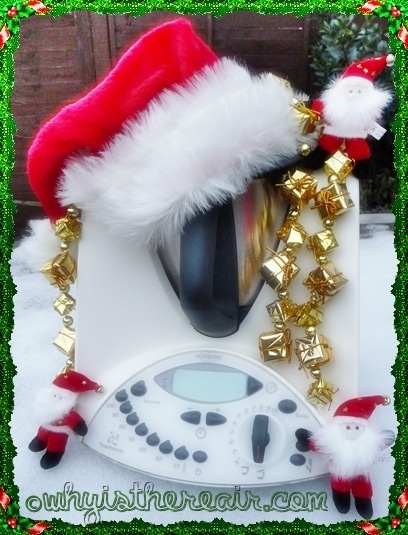Merry Christmas 2010 from Madame Thermomix to Thermomix lovers around the world!