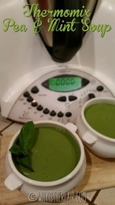 Thermomix Pea & Mint Soup