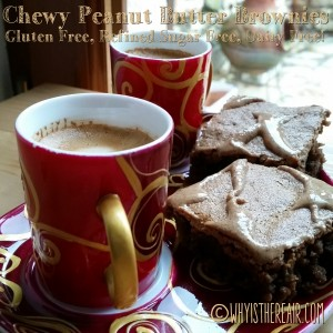 Madame Thermomix's Chewy Peanut Butter Brownies are not only gluten free, refined sugar free and dairy free, they're scrumptious to boot!