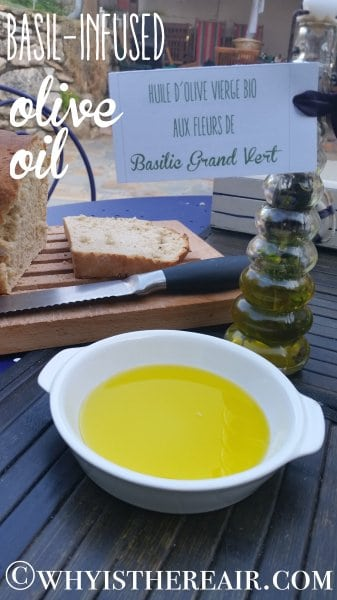 Herb-infused oils make great gifts from the garden!