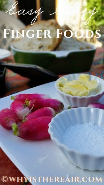 Radishes, butter and salt are a classic French summertime starter