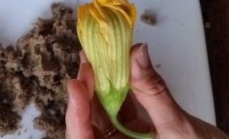 Stuffed Courgette Flowers are a delicious way to enhance the subtle flavour of our good friend the courgette