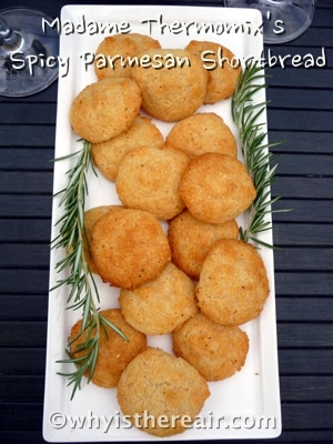 Make Spicy Parmesan Shortbread in just a minute in your Thermomix!