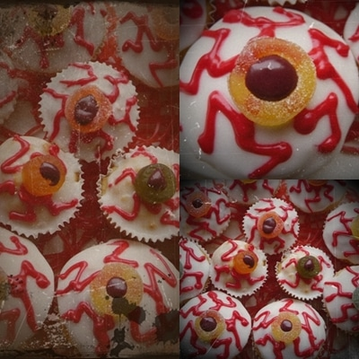 My Halloween Eyeball Muffins