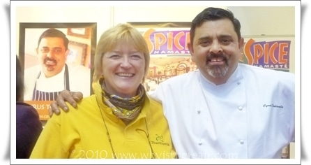 Madame Thermomix and Chef Cyrus Todiwala of Cafe Spice Namaste