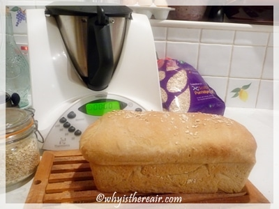 Easily make two dozen loaves of bread in less than an hour with Thermomix
