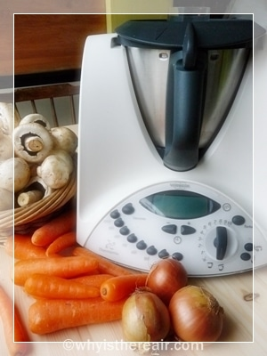 Thermomix blended soups are fast and easy, and kid friendly, too!