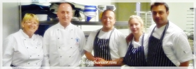 Madame Thermomix and Chefs Grant Hawthorne, James Knight-Pacheco, Dhruv Baker and Lisa Faulkner