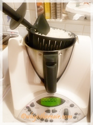 Steamed Thermomix rice