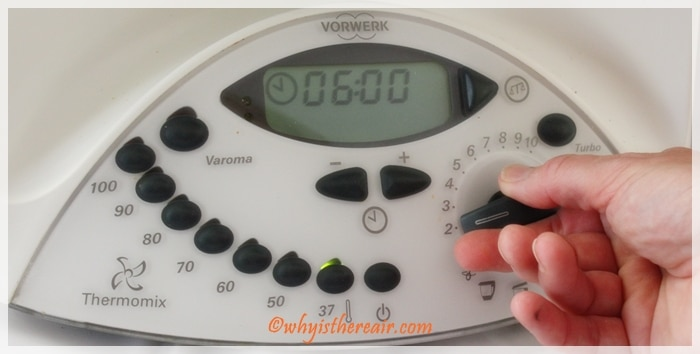 Thermomix's accurate temperature settings can heat to just 37 degrees C, perfect for raw foods