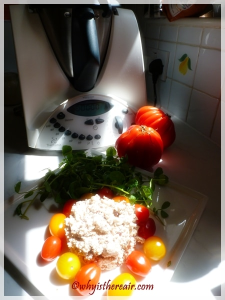 Thermomix Instant Chicken Salad in just one second!