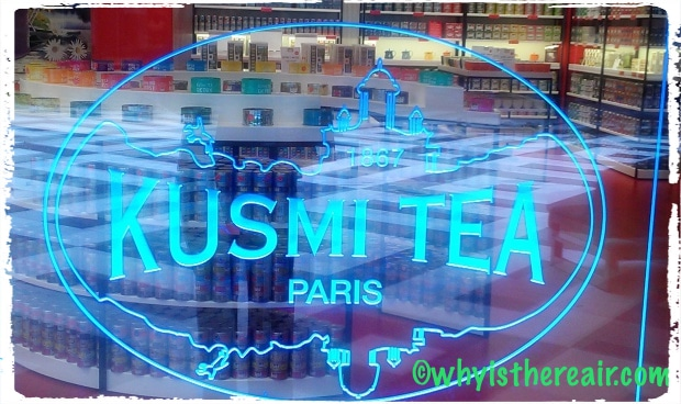 The Kusmi Tea boutique at One Nation Paris
