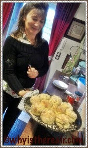 Marion's scones are as fabulous as she is!