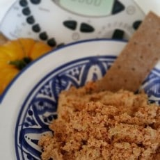 Tuna Salad takes 2 just seconds in your Thermomix!