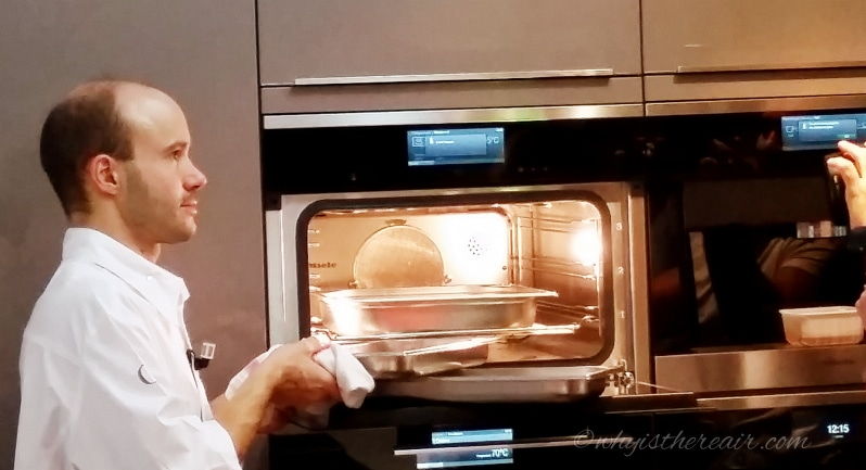 Steam cooking with miele at alain ducasse school of for Alain ducasse ecole de cuisine