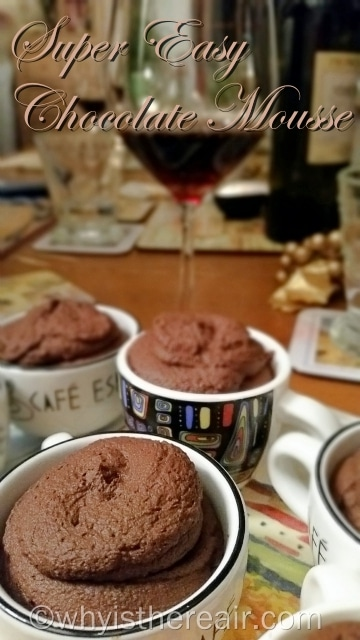 You can make this Super Easy Chocolate Mousse with milk chocolate or classic baking chocolate. It's especially delicious made with dark chocolate!