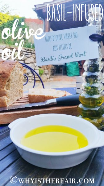 Herb-infused oils are fast and easy to make in the Thermomix!