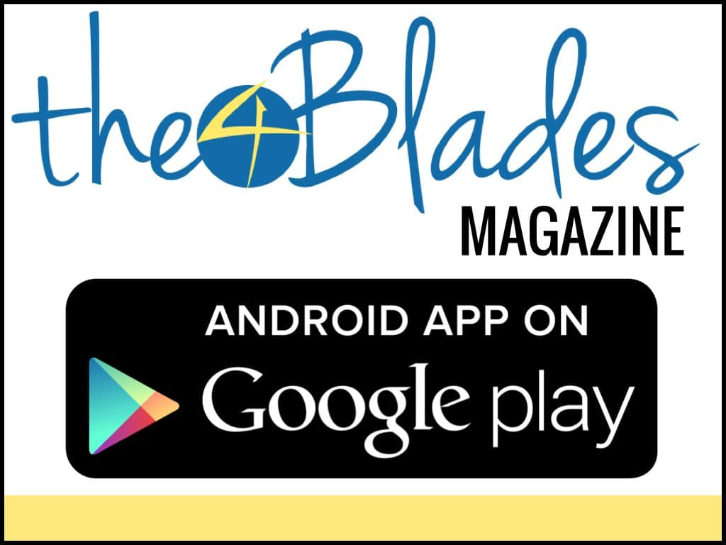 Subscribe to The 4 Blades Magazine on your Android device here