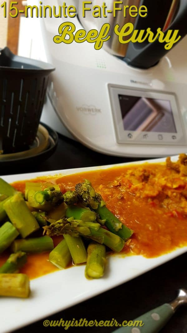 I had asparagus with my curry today, and you can cook any other Protocol vegetable in the simmering basket while your curry cooks!