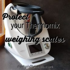 It's important to protect your Thermomix's built-in weighing scales for optimum precision and long life