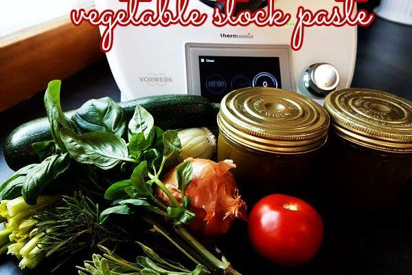 Fat-Free Vegetable Stock Paste