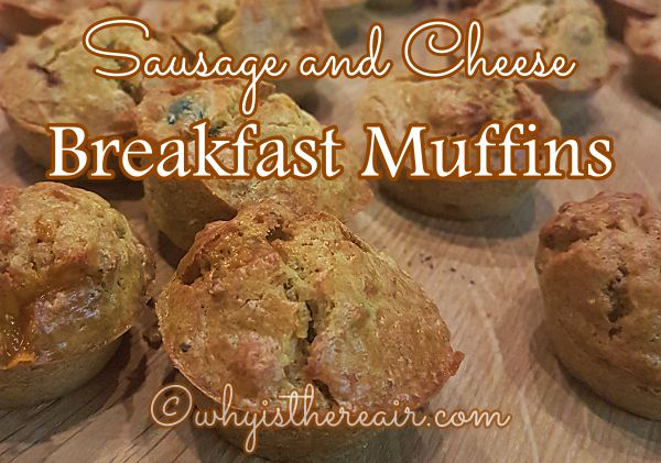 Sausage And Cheese Breakfast Muffins Thermomix Recipe